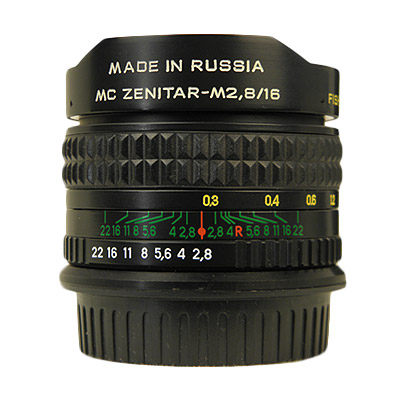 MC ZENITAR-M 16mm/f2.8 CANON EOSマウント新品