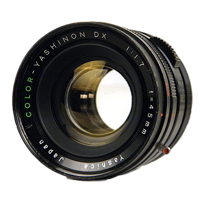 YASHINON-DX 45mm f1.7 Eマウント改造/CONVERSION LENZ SET