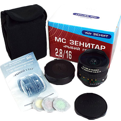 MC ZENITAR-M 16mm/f2.8 M42マウント(新品)