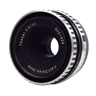 Carl Zeiss Jena TESSAR 50mm/f2.8 ZEBRA