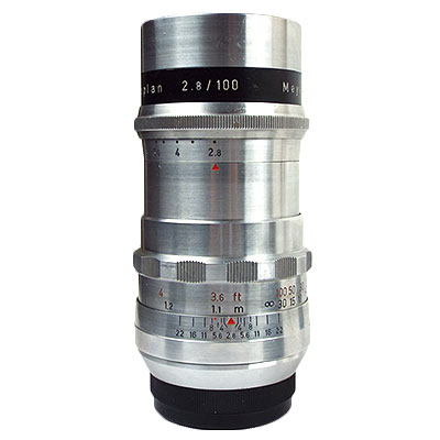 Meyer optik Gorlitz Trioplan 100mm/f2.8 純正M42マウント