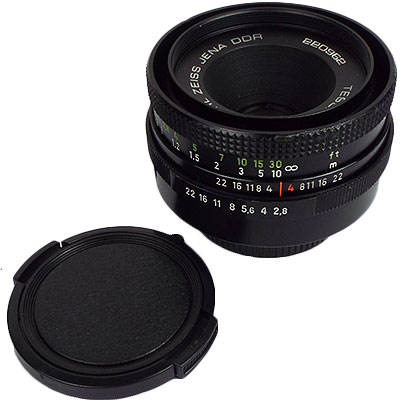 TESSAR 50mm/f2.8 CARL ZEISS JENA DDR