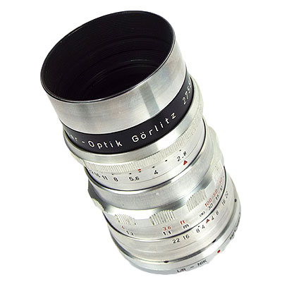 Meyer optik Gorlitz Trioplan 100mm/f2.8 NIKON改造