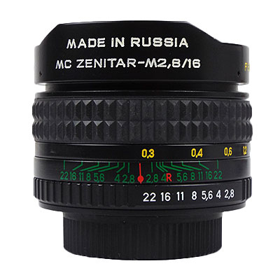 MC ZENITAR-M 16mm/f2.8 M42マウント新品