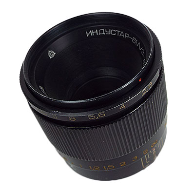 INDUSTAR-61L/Z-MC 50mm/f2.8 マクロ